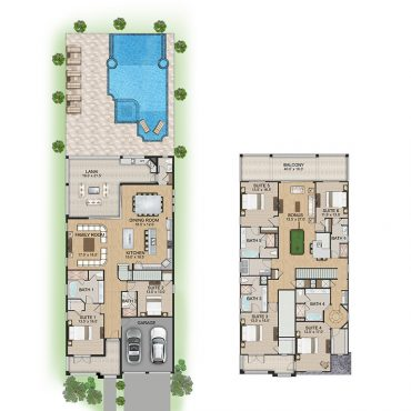 Pebble Beach Floorplan