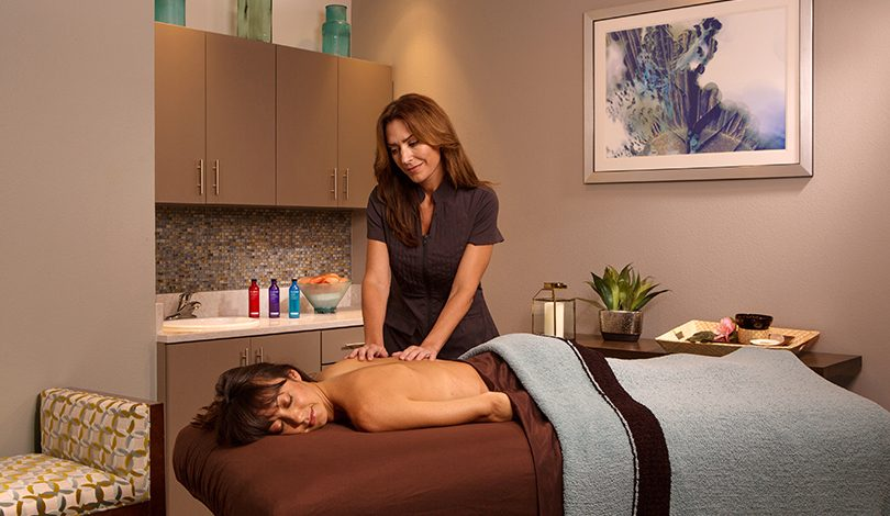 Local de massagem no The Grove Resort