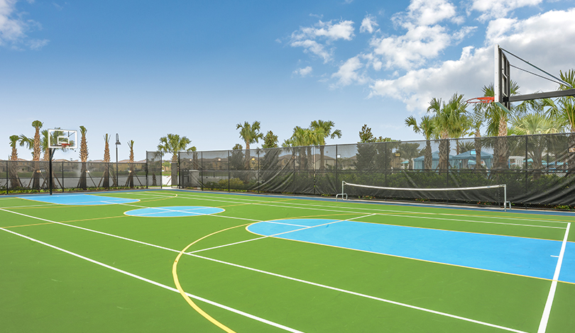 Campo de esportes no Resort Windsor at Westside